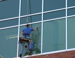 Michigan Office Building Window Washer