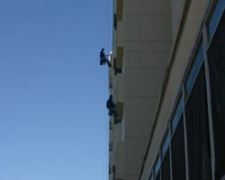 Commercial Office Building Window Washing