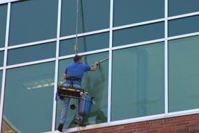 Michigan Office Building Window Washer