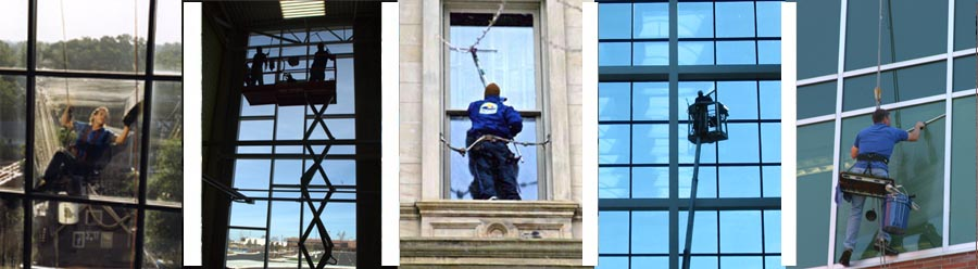 High-Rise and commercial window cleaning services in Michigan